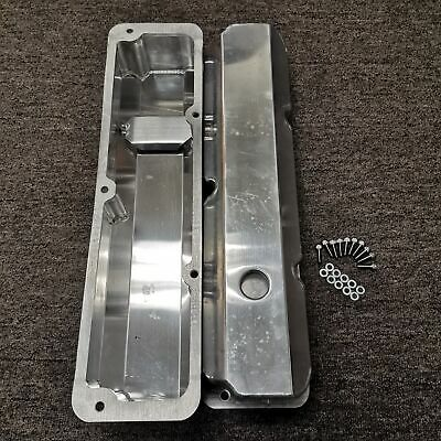 Fabricated Aluminum Tall Valve Covers For Ford FE BBF 352 390 428 • 55.46$