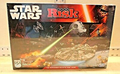 $13.99 • Buy New Star Wars Edition Risk  The Reimagined Galactic Risk  Board Game