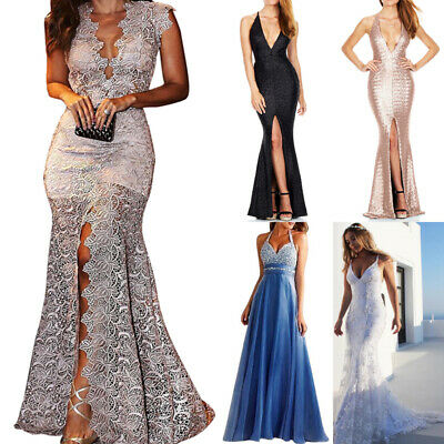 £17.23 • Buy Women Evening Ball Prom Gown Formal Dress Bridesmaid Party Cocktail Long Dress