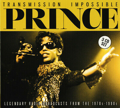 TRANSMISSION IMPOSSIBLE (3CD)  By PRINCE  Compact Disc - 3 CD Box Set   • 15.50£