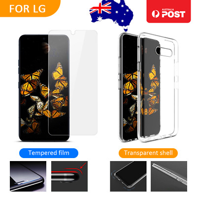 AU4.99 • Buy Soft Clear Case Cover &Tempered Glass Screen Protector For LG V50 G8S ThinQ K11+