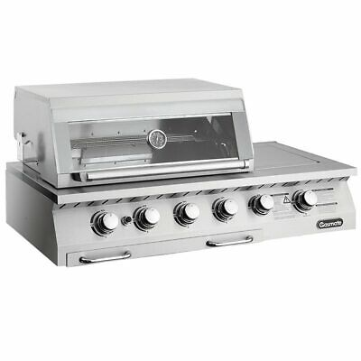 AU2249 • Buy Gasmate Professional 4 Burner Built In BBQ Gasmate Barbeques;Barbeques/Built-In