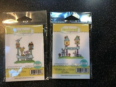 Taylored Expressions~2 Wishes On A Wire Sets-Baby And Easter~NIP~Free Shipping! • 8$