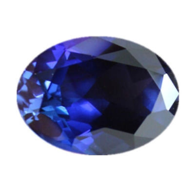 Unheated 7.98ct Natural Mined 10x12mm Sri-Lanka Blue Sapphire Oval Cut VVS Gems • 0.80$
