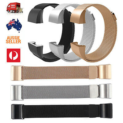 AU9 • Buy Milanese Loop Wristband Watch Band Strap Stainless Steel For Fitbit Charge 2 AUS