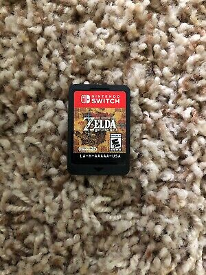 Legend Of Zelda: Breath Of The Wild (Nintendo Switch, 2017) Game Cartridge Only! • 40.50$