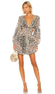 $603.50 • Buy Zimmermann Allia Cutout Dress Size  3 New With Tags  $1,100  Sold Out