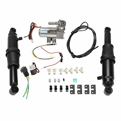 $186.65 • Buy Rear Air Ride Suspension Set For Touring Road King Street Glide 94-18 17