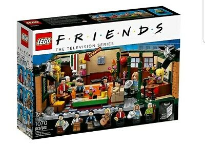 Central Perk Friends Lego (sold Out) Factory Sealed Box Of 21319 In Hand & Htf🎁 • 99$