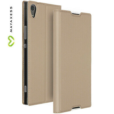 $ CDN31.01 • Buy Etui Sony Xperia XA1 Ultra Housse Clapet Portefeuille Fonction Stand