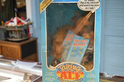 Talking Alf The Story Telling Alien Doll 1987 Coleco • 55$