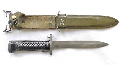 $ CDN99.75 • Buy Vietnam/Korea War US M5 Bayonet + M8A1 Scabbard Kiffe Japan