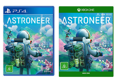 AU89 • Buy Astroneer Sony PS4 Playstation 4 XBOX One Family Kids Planet Exploring Crafting