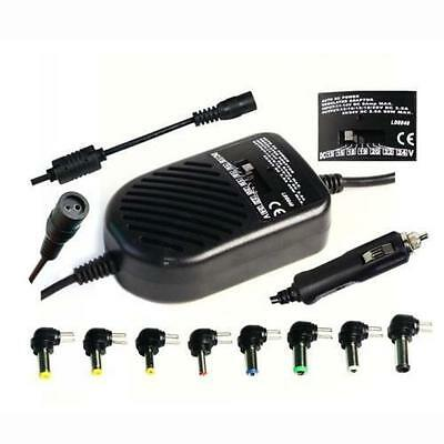 Universal 80W DC Auto Car Power Charger Adapter For Laptop Notebook Computer • 11.79£