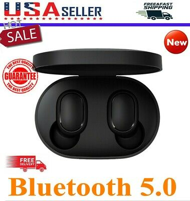 $12.19 • Buy For XIAOMI Redmi AIRDOTS WIRELESS EARPHONE W/ CHARGER BOX Bluetooth 5.0 Headset