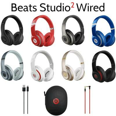 Genuine Beats By Dr. Dre Studio 2.0 Wired Over Ear Headphones  • 59.99£