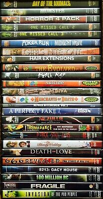 $ CDN32.14 • Buy Wholesale Lot Of 30 Assorted Random New DVD Horror Sci Fi Grab Bag No Duplicates