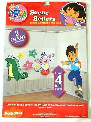 Dora The Explorer  - Scene Setter Diego & Friends Add Ons -party Supplies • 4.79£