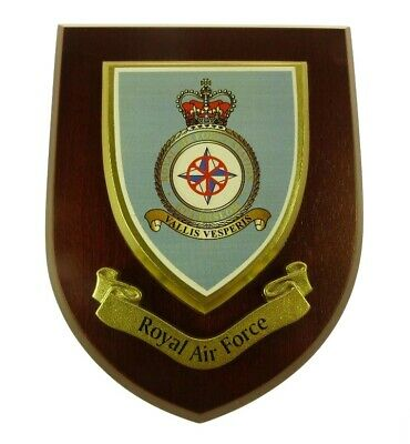 Raf Station Gutersloh Classic Hand Made In The Uk Regiment Mess Plaque • 19.99£