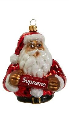 $99 • Buy Supreme Santa Christmas Ornament Collectable FREE & FAST Shipping