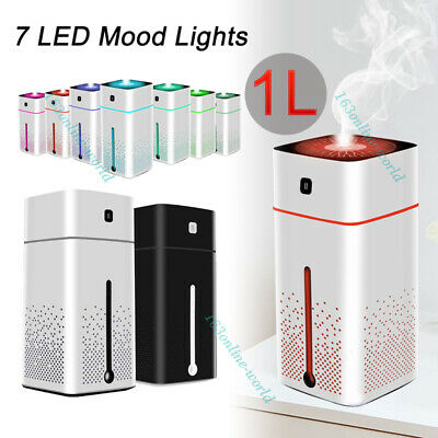 AU26.99 • Buy Ultrasonic Aromatherapy Aroma Diffuser Essential Oil Air Humidifier LED Light