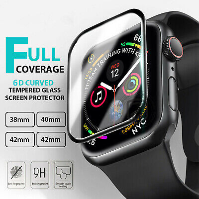 $ CDN5.24 • Buy Apple Watch 1 Apple Watch 2 3 4 5 38/40/42/44mm Tempered Glass Screen Protector