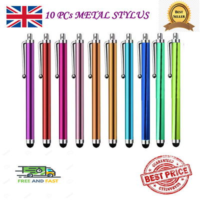 £3.20 • Buy 10PC PRO Universal Touch Screen Metal Stylus Pens For Mobile Phone IPad IPhone