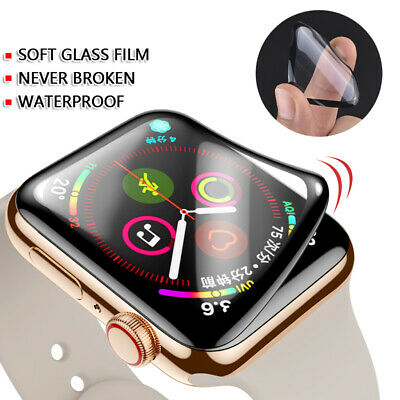 $ CDN3.80 • Buy For Apple Watch Series 5 4 3 2 1 6D Curved Full Cover Screen Protector 42mm 44mm