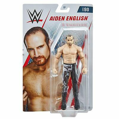 Wwe Aiden English Mattel Basic Series 90 Wrestling Action Figure New • 9.90£