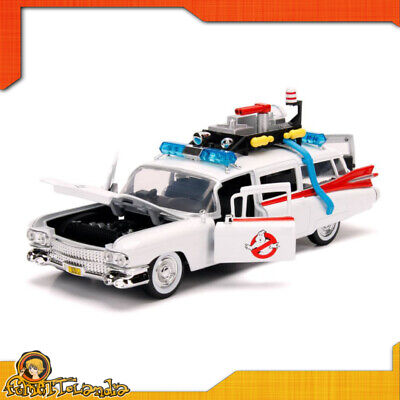 Cadillac 1959 Ecto-1 Of Ghostbusters Model Automobile Ambulance IN Metal • 41.09£