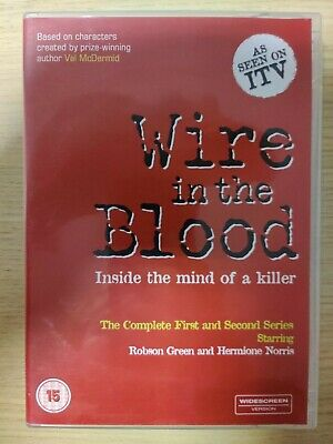 £3.50 • Buy BOXED - Wire In The Blood: Series 1 & 2 - Complete (DVD, 2005, Box Set) Red Box