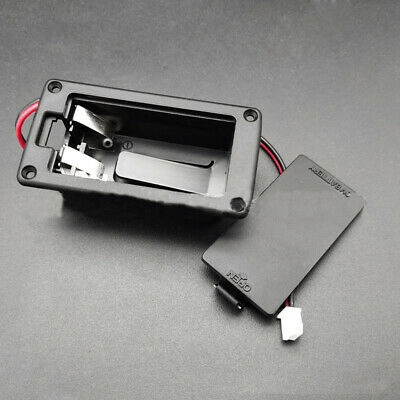 £2.09 • Buy 9V Battery Box Holder Case Cover Holders Active Guitar Bass Pickup Accessories