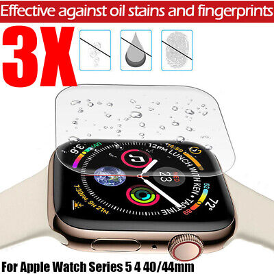 $ CDN2.49 • Buy For Apple Watch Series 5 4 3D Edge Tempered Glass Full Screen Protector 40/44mm