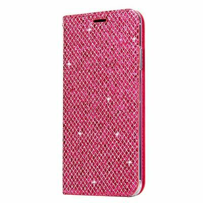$ CDN4.31 • Buy Samsung G950 Galaxy S8 Slim Fitting Glitter Wallet Case With Magnetic Closing