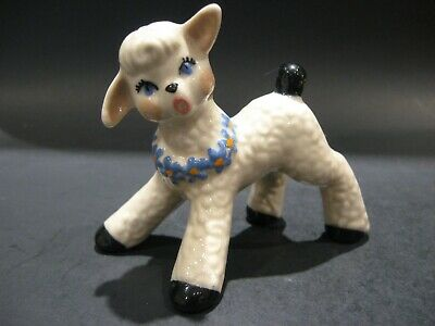 $11.99 • Buy Vintage 1950's Ceramic Arts Studio Little Lamb Figurine Antique Art Pottery