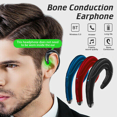 $13.99 • Buy Wireless Bluetooth 5.0 Earphones Bone Conduction Headphones Sport Stereo Headset