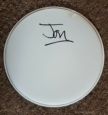 Jon Moss 'Culture Club', Hand Signed In Person 10  White Drum Skin. • 79.99£