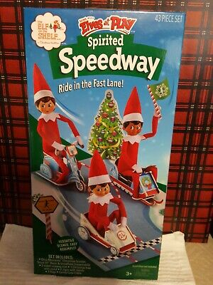 AU23.42 • Buy Elf On The Shelf ~ Scout Elves At Play ~ Spirited Speedway ~ Christmas