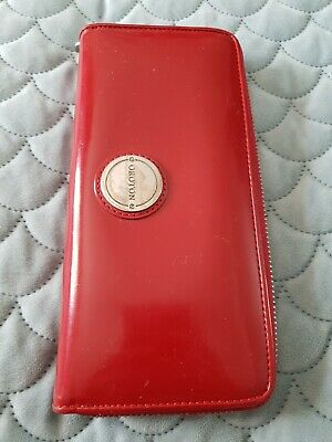 AU45 • Buy OROTON Red Leather Wallet Purse C55