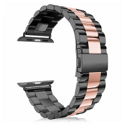 $ CDN22.49 • Buy For Apple Watch Series SE 3/4/5/6 38/40/42/44MM Strap Stainless Steel Watch Band