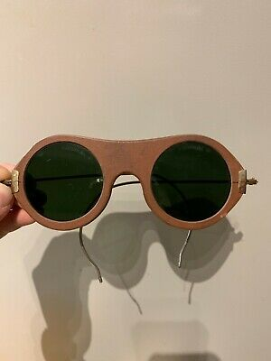 $220 • Buy RARE: Vintage WILLSON Welders Safety Goggles Sunglasses (1930s)