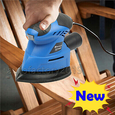 Tight Corners Sander Angle Base Hand Held Sanding Machine Mini Electric Sander • 11£