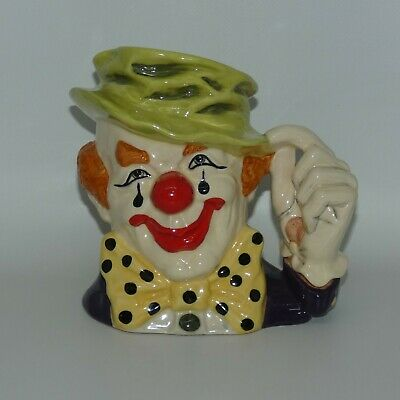 Rare Royal Doulton The Clown Large Size Character Jug D6834 • 106.19£