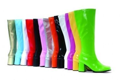 £21 • Buy New Women's Fancy Dress Sexy GoGo Knee High Boots Cool 60's 70s Party Sizes 3-12