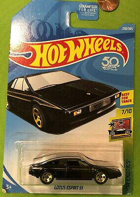 $ CDN3.59 • Buy Hot Wheels Exotics Black Lotus Esprit S1 1/64 Diecast Gold 5 Spokes