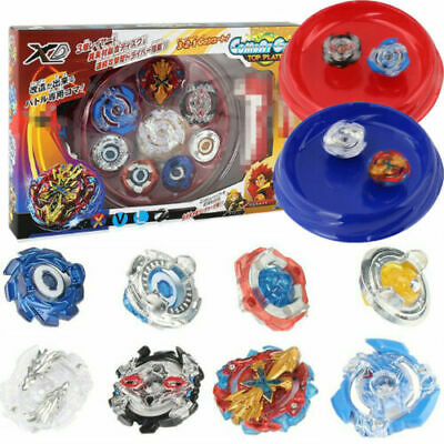 $16.59 • Buy 4Pcs Boxed Bayblade Beyblade Burst 4D Set With Launcher Arena Metal Fight Battle
