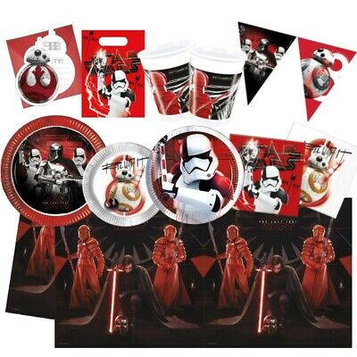 £2.99 • Buy Star Wars Ep8 Party Supplies Tableware, Bags, Balloons & Decorations