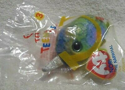 $ CDN6.95 • Buy McDonald's Happy Meal Toy Teenie Teeny Tys Nori The Narwhal 2019, Green And Blue