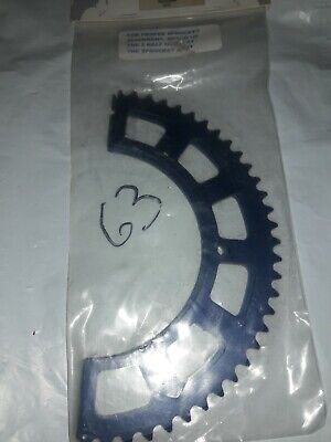 $12.66 • Buy Racing Go Kart Sprocket By Tomar Racing Clutches # 046300 63T New