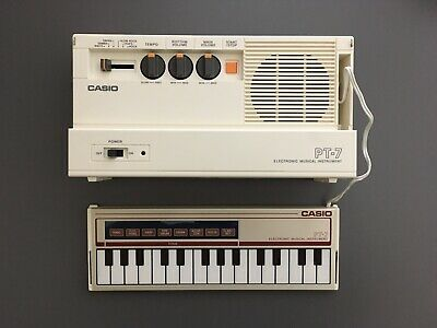 $399 • Buy Vintage Casio PT-7 Keyboard With Original Box And Paperwork